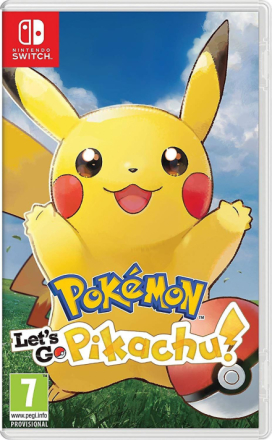 Pokémon: Lad os gå, Pikachu! (Nintendo Switch) - Fruugo