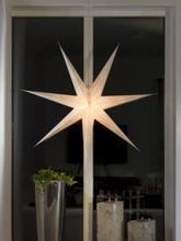 Konstsmide Pappersstjärna Vit Hängande 2978-200