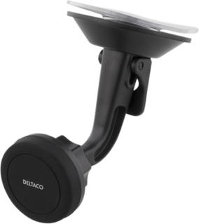 Deltaco Magnetisk Mobilhållare För Bilen, Sugkopp, Rotation, Upp