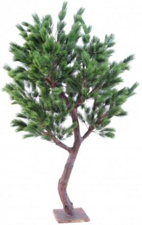 Stort kunstigt fyrretræ H210 cm