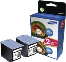Samsung M40V 2st Svarta Bläckpatroner (Fax)