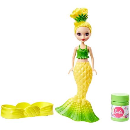 Barbie - Dreamtopia - Bubbles 'n Fun Mermaid Doll - Yellow (DVM99)