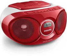 Philips Boombox Cd/radio Röd