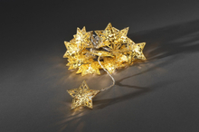 Konstsmide Ljusslinga Stjärnor Guld LED 3171-803