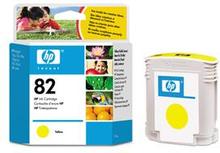 HP bläckpatron 82 gul (C4913A)