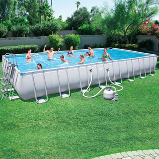 Bestway Basseng - Power Steel Frame Pool 56623 - 956x488x132cm