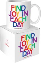Quotable Mug Find Joy In Each Day