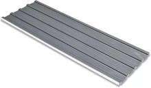 Vidaxl takprofiler 12 st galvaniserat stål grå
