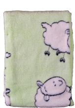 Gilbert Gilbert Filt Baby Lamm Grön