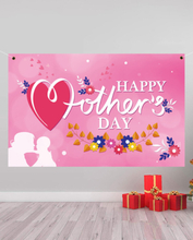 Glücklicher Muttertag Hintergrund hängendes Tuch Home Yard Indoor Outdoor Party Dekor Festival Atmosphäre Exquisite Bann