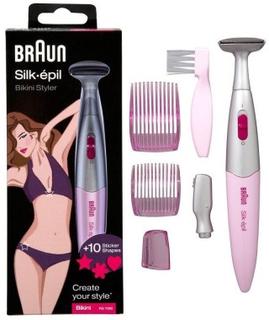 Braun FG1100 Silk Epil Bikini Styler 1 stk + 5 stk