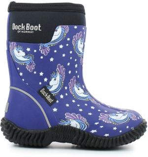 Dock Boot Fortuna Bl Multi Støvler Barn 20-32