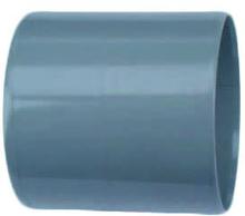 Wavin PVC dubbele lijmmof 50 mm Wavin