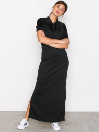 Maxikjoler - Svart Adidas Originals VV Long T Dress