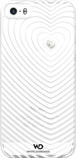 White Diamonds Heartbeat iPhone 5/5S White