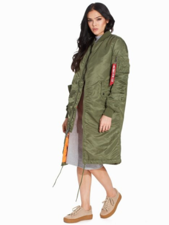 Bomberjakker - Green Alpha Industries MA-1 Coat Wmn