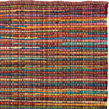 Handgjord matta - Home - Pastell - Handvävd bomull - 70x200 cm