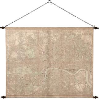 Väggdekoration - Världskarta Old