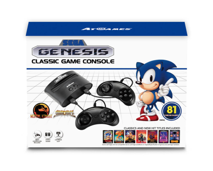 Mega Drive Classic Game Console (inkl. 81st spel)