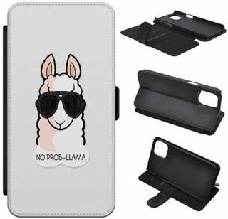 Samsung Galaxy S10 Lite (2020) Wallet Slim Case No Prob-llama