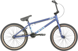"Haro Downtown 24"" 2019 Freestyle BMX Cykel 20.5"" Matte Blue"