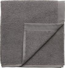 Towel Cotton Linen Home Bathroom Towels Grå Gripsholm