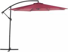 Beliani Parasoll 300 cm burgundy RAVENNA