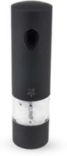 Peugeot Onyx Soft Touch Elektrisk Saltkvarn Svart 20 cm