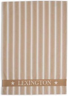 Lexington - Lexington Striped Kjøkkenhåndkle 50x70 cm, Beige