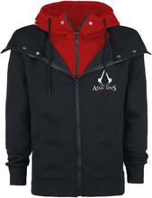 Assassin's Creed - Emblem -Hettejakke - svart, rød