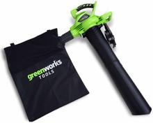 Greenworks Lövblås/lövsug utan 40 V-batteri GD40BV 24227