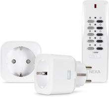 Fjärrströmbrytare Nexa MYCR-2 2-Pack Plug-In Med Fjärrkontroll