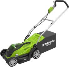 Greenworks plæneklipper uden 40 V-batteri G40LM35 2501907