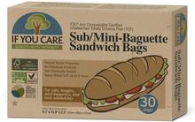 Ubleget Papir Baguette & Sandwich poser