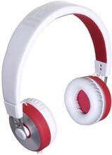 MAXELL Maxell MXH-HP650 KUMA HEADPHONES WHITE/RED 4902580769369 Replace: N/AMAXELL Maxell MXH-HP650 KUMA HEADPHONES WHITE/RED