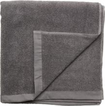 Bath Towel Cotton Linen Home Bathroom Towels Grå Gripsholm