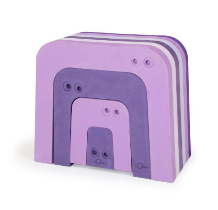 bObles Muurahaiskarhu - Multi violetti