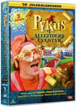 Julekalender: Pyrus i alletiders eventyr (3 disc)