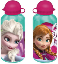 Disney Frozen Aluminium Vattenflaska - Termos Grön