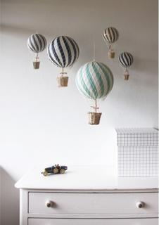 Filibabba luftballong (10 cm, välj färg)