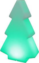 Juletræ med LED lys og fjernbetjening XXL