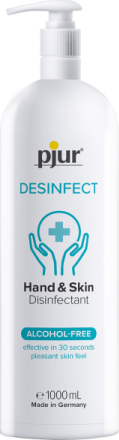 Pjur: Hand & Skin Disinfectant, 1000 ml