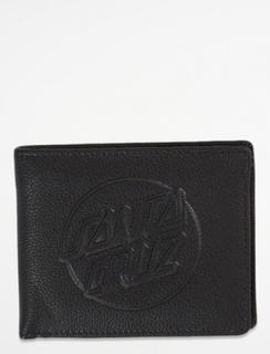 Santa Cruz, Santa Cruz Wallet Embossed Dot Wallet, Svart, Plånböcker till Unisex, One size