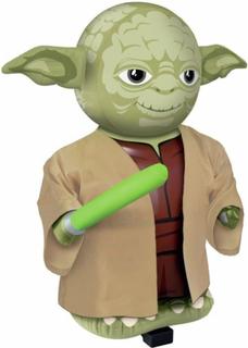 Radiostyrd 67 cm Uppblåsbar Star Wars Yoda med Ljud
