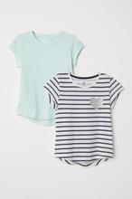 H & M - 2-pack t-shirts - Hvit