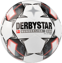 Derbystar Bundesliga Brillant Mini Jalkapallot WHITE/BLACK