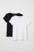 H & M - 2-pack t-shirt - Hvit