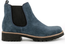 Green Comfort Chelsea Boot Blue