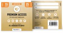 Värdekort Premium 15 mån