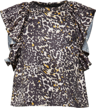 Bling Top Bluse Tunika Multi/mønstret HOW TO KISS A FROG